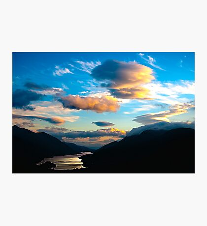 HDR of Loch Shiel Photographic Print
