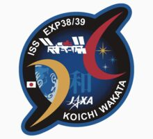 Wakata Personal ISS-39 Patch by Spacestuffplus