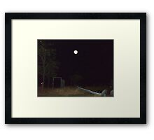 Orb Reporting Photograph #1 Framed Print