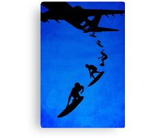 Sky surfers Canvas Print