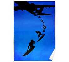 Sky surfers Poster