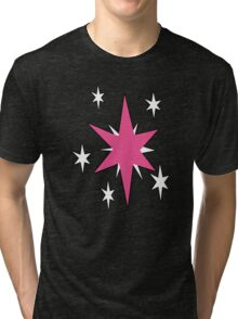 TwilightSparkle Cutie Mark (Outline) Tri-blend T-Shirt