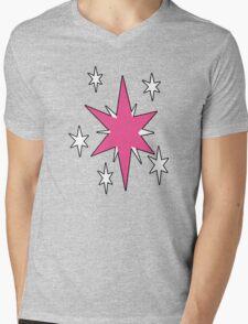 TwilightSparkle Cutie Mark (Outline) Mens V-Neck T-Shirt