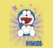 Doraemon Eats Stars by DrewBird