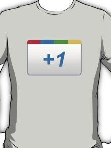Google +1 T-Shirt