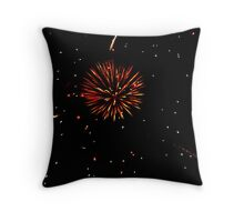 July 4, 2011 Fireworks Throw Pillow