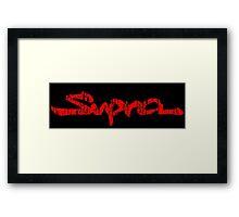 Toyota Supra Framed Print