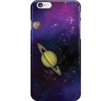 Planets in the night sky! iPhone Case/Skin