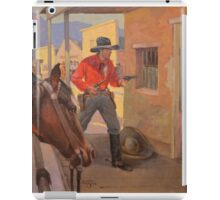 Vengeance Valley - Charles Hargens iPad Case/Skin