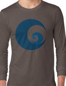 Golden Ratio Cutout Circles Long Sleeve T-Shirt