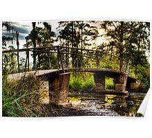 Swamp Bridge-2 Poster