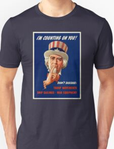Uncle Sam - I'm Counting On You T-Shirt