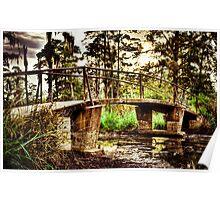 Swamp Bridge-3 Poster