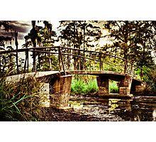 Swamp Bridge-3 Photographic Print