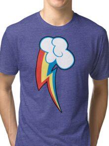 Rainbow Dash Cutie Mark (outline) Tri-blend T-Shirt