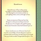 Remembrances - the image by Roger Sampson