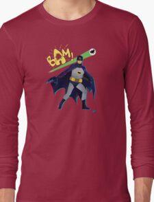 The Caped Crusader Long Sleeve T-Shirt