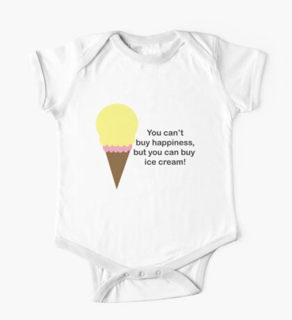 You Can't Buy Happiness (Ice Cream) Kids Clothes