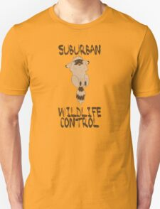 Suburban Wildlife Control Baby Raccoon T-Shirt