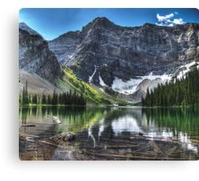 Rawson Lake, Kananaskis, Canada Canvas Print