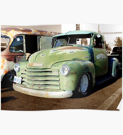 Rust Bros. Trucks Poster