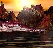 Native Giant Alligator by XadrikXu
