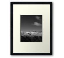 Mt Stirling, Victoria Framed Print