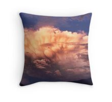 Tornado Cell Throw Pillow