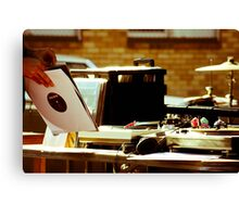 Rollover DJ Canvas Print