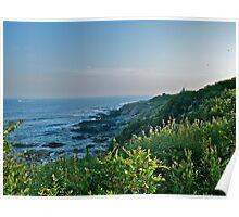 Beavertail at Dusk - Conanicut Island Poster