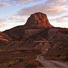 Cabezon Mountain New Mexico by doorfrontphotos