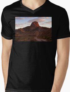 Cabezon Mountain New Mexico Mens V-Neck T-Shirt