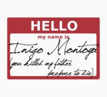 Hello My name is Inigo Montoya by sulaeman889