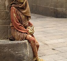 The Homeless Statue by Meni
