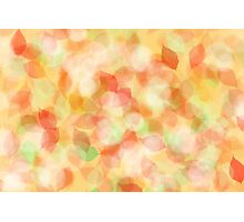 Colorful abstract leaves Photographic Print