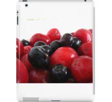 Blueberries & Cherries iPad Case/Skin