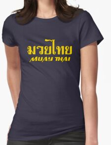 Muay Thai 2 Womens T-Shirt
