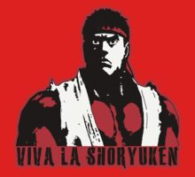 Viva La Shoryuken Kids Tee