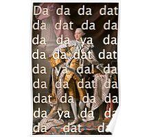 You'll be Back Hamilton King George III Da dat Poster