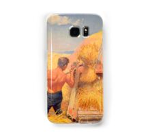 Threshing in Dakota Samsung Galaxy Case/Skin