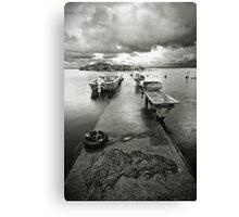 Fishermans Launch Canvas Print