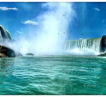 Maid of the Mist: Niagara Falls by Mansibhatia