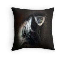 Colobus monkey ~ Throw Pillow