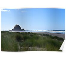 Haystack Rock, Cannon Beach, Oregon, USA Poster
