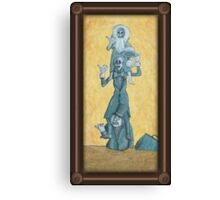 Quick Hitchers Canvas Print