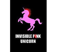 Invisible Punk Unicorn Photographic Print