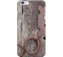 Keyhole in a Door iPhone Case/Skin
