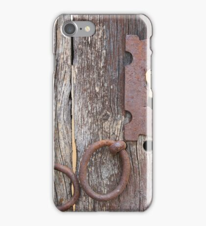 Keyhole in a Door iPhone Case/Skin
