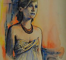 Allison Mack by FDugourdCaput