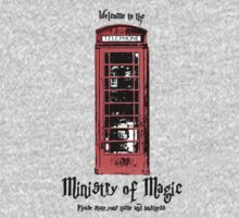 Welcome to the Ministry of Magic One Piece - Long Sleeve